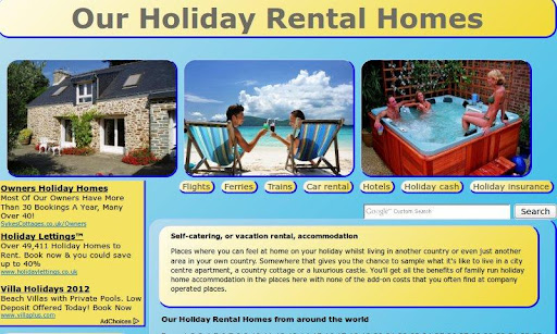 Our Holiday Rental Homes