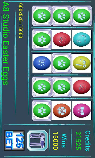 【免費紙牌App】A8 Easter Eggs Slot Machine-APP點子