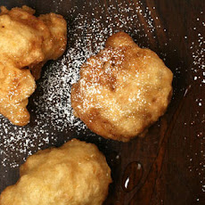 Honey Fritters with Blood Oranges