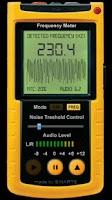 Screenshot of Frequency Meter PRO