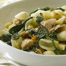 Orecchiette with Tuna and Arugula
