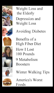 Dieting for Smart People - screenshot