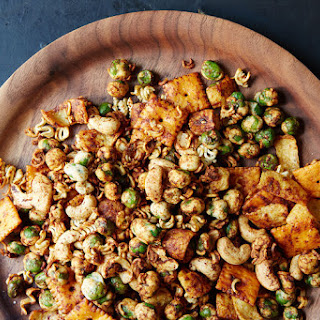 Snack Mix Dried Peas Recipes
