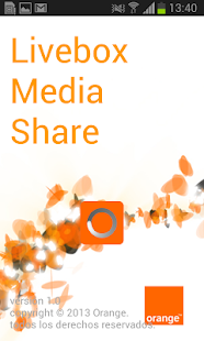 Livebox Media Share - screenshot