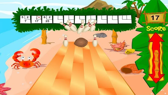 Beach Bowling- screenshot