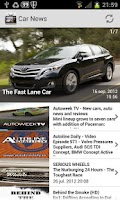 Screenshot of Car News (offline video)