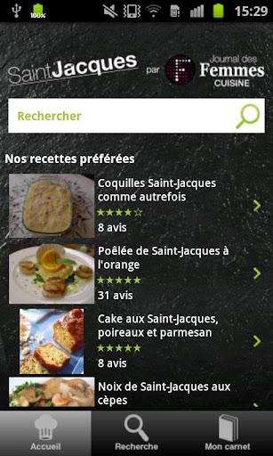 Recettes Saint-Jacques