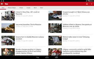 Screenshot of Ottawa SUN+