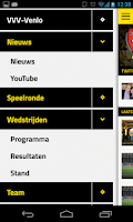 Screenshot of VVV-VENLO LIVE