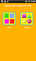 Screenshot of Colors and Shapes for Kids