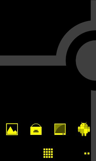Minimalist_Yellow - ADW Theme