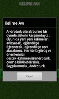 Screenshot of Kelime Avı