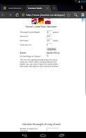 Screenshot of Seed Rate cal per row&sq metre