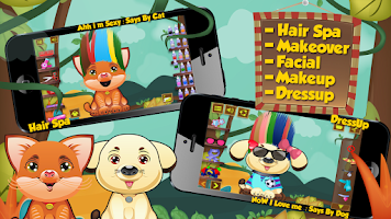 Screenshot of Animal Hair Salon