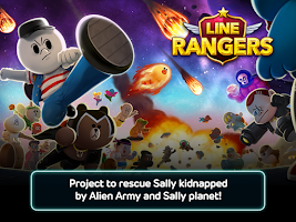 Screenshot of LINE Rangers