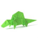 Dinosaur Origami 8