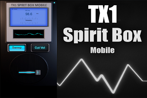 TX1 Spirit Box Mobile - screenshot