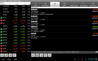 Screenshot of IFC Markets Trade Terminal