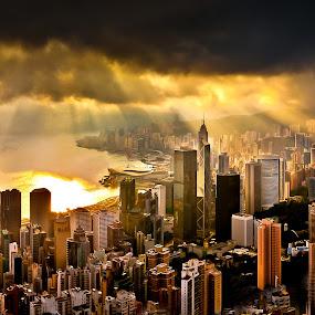 Armagedon by Giovanni MIrabueno - City,  Street & Park  Vistas