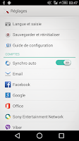 Screenshot of Xperia Theme - XSPACE -