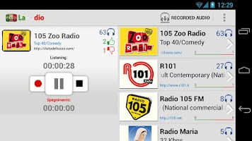 Screenshot of La Radio - Italian Radio Live