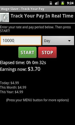 Wage Slave Pay Tracker PRO