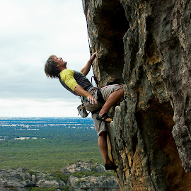 The Grampians by Angus Ibbott - Sports & Fitness Climbing ( climbing, rock climbing, cliffs, mountain, rockclimbing )