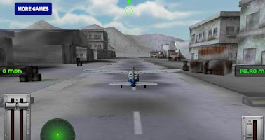 Screenshot of Snow Mountain Flight Simulator