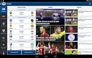 Screenshot of FOX Sports NL