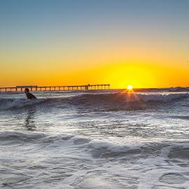 by Roman Gomez - Instagram & Mobile Instagram ( roman, sunset, surfed )