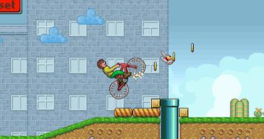 Screenshot of Mountain Bike Boy - Race Game