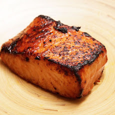 Five Minute Miso-Glazed Toaster Oven Salmon