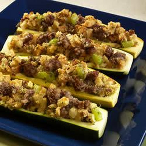 Stuffed Yellow Squash Sausage Recipes | Yummly