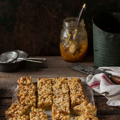 Shortbread Bars With Whisky Marmalade