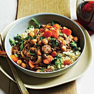 Moroccan-Style Lamb and Chickpeas