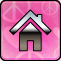 Pink Love GO Launcher Ex Theme icon