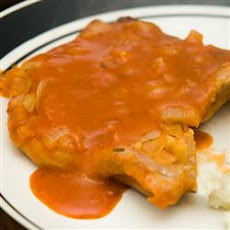 Pork Chops in Red Sauce