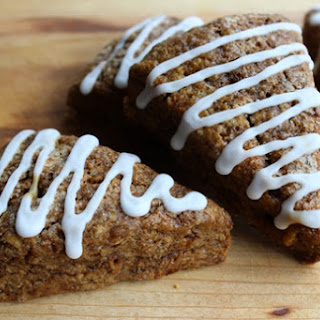 Drizzled Gingerbread Scones