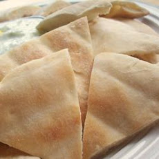 Baked Pita Triangles