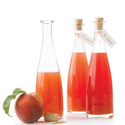 Fresh-Peach-Infused Vinegar