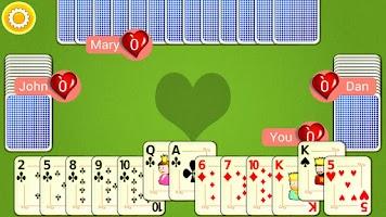 Screenshot of Hearts Mobile