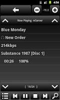 Screenshot of AVR-Remote for Denon/Marantz