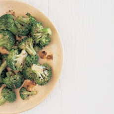 Stir-Fried Broccoli with Black Bean Sauce