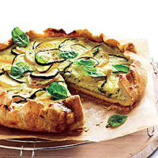 Summer Squash and Ricotta Galette