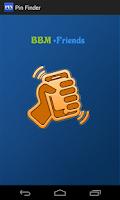 Screenshot of PIN Finder For BBM