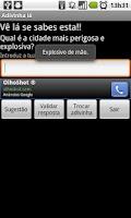Screenshot of Adivinha lá!
