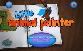 Screenshot of Little Animal Painter