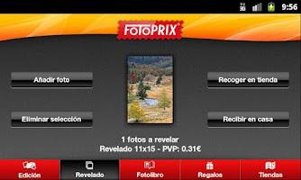 Screenshot of Fotoprix