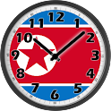 North Korea Clock icon
