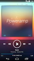Screenshot of Poweramp skin KK/JB/ICS